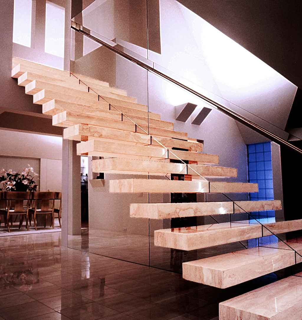 Wittow residence staircase