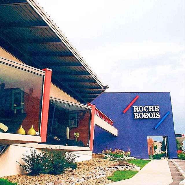 Roche Bobois furniture showroom (now Zoli showroom), County Line Road and Colorado Boulevard, Litteton CO